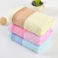 Wholesale Cheap Towels Bulk - 35*75cm 100% cotton Bath Towel Bulk Beach towel Spa Salon Wraps Terry Towels cheap bulk towel toalha