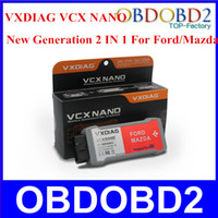 Wholesale Super Ford Vcm - Wholesale-Super Functional VCM For FORD For FORD Vehicles OEM Diagnostic X-VCI VCM JLR V130 IDS V75 XVCI With 3 Years Warranty