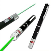 Wholesale 5mW nm nm Green Red light Laser Pen Beam Laser Pointer Pen For SOS Mounting Night Hunting teaching Xmas gift
