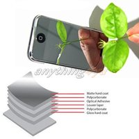 Wholesale Iphone 3g Screen Film - Wholesale-ONLY 2pc LCD Mirror Screen Protector Film Cover for iPhone 3G 3GS