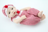 """Wholesale Adora Boy Baby Doll - Wholesale-10"""" baby dolls silicone vinyl mini dolls adora baby doll The twins Gifts for Children's Day"""