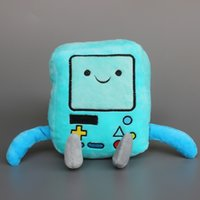 Wholesale Beemo Figure - 2015 High Quality New Cartoon Adventure Time Figure Beemo BMO Plush Doll Stuffed Toys 22CM For Children Christmas Gift 10 pcs lot