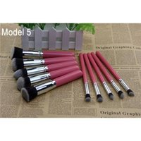 10 Pcs Besten Profi Make-Up Pinsel Set Genial Kosmetik Make-Up Pinsel-Kit 7 Entscheidungen Foundation-Pinsel Genial Make-Up Pinsel