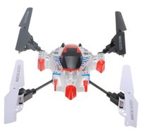 Wholesale Rc X1 - Wholesale-Free Shipping SYMA X1 SpaceCraft 4CH 2.4G 4-axis 360 Degree Eversion 3D LCD RC Aircraft Quadcopter RTF Xcopter Gyro Helicopter
