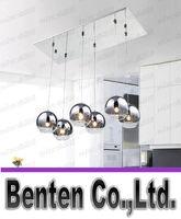 Wholesale Linear Pendant - rectangle ceiling pendant lamps dining room pendant lighting linear suspension hanging lighting modern pendant lamps led lights living room