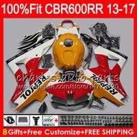Wholesale repsol silver for sale - Injection For HONDA CBR600 RR CBR RR F5 Repsol orange NO51 CBR RR CBR600RR Fairing