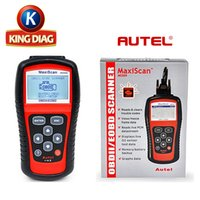 Wholesale Auto Obd Reader - Wholesale Autel MaxiScan MS509 OBD Scan Tool OBD2 Scanner Code Reader Auto Scanner