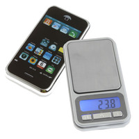 Wholesale Cell Phone Digital Scales - Portable LCD Electronic Digital Pocket Jewelry Coin Gold Diamond Cell Phone Weight Scale Weighting Scales 500g x 0.1g,dandys
