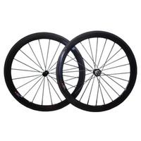 Wholesale 88mm clincher wheel set for sale - Full Carbon Wheels mm mm mm mm Chinese Carbon Wheels Clincher Carbon Wheelset mm Wide Powerway R13 or Nevatec Hub