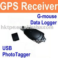 Wholesale Data Logger Gps - New SJ-5282DL USB GPS Skytraq Venus 65-channel Receiver   Data Logger Dongle Free Shipping