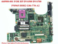Wholesale Original Laptop Hp - Wholesale-Original laptop motherboard 460900-001 for HP DV6500 DV6700 motherboard G86-730-A2 PM965 Intel DDR2 non-integrated fully test