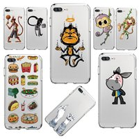 Wholesale Iphone Soft Monkey Case - Naughty Monkey Painted Phone Soft Shell For Iphone Samsung Huawei Can Mix design and model