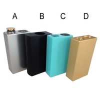 Wholesale Ego Body - Dimitri Box Mod Vape mod Alloy Body Dual 18650 battery 510 eGo connector Full mechanical mod Electronic Cigarette Mod 0207397