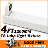 Wholesale T8 Tube Lamp Holder - 1.2m T8 Fixture 4FT LED tube light Stand high quality support 1.2 meters bracket 1200mm stent lamp holder G13 Lamp Bases