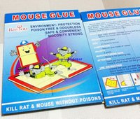 Wholesale Sticky Traps - Mousetrap Sticky mouse board Mice capture mouse sticky paper Deratting Green non toxic rat Eliminate trap Deratization