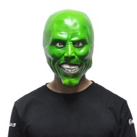 Le Masque Jim Carrey Masques Halloween Adulte Latex Masque Film Cosplay Jouet Accessoires Party Party Déguisements