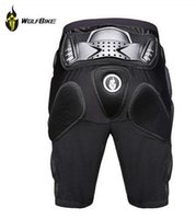 WOLFBIKE Hockey Motos Armure Shorts Off-Road Motorcross Downhill Mountain Bike Skating Extreme Sport Équipement de protection Hip Pad nouvel arrivé