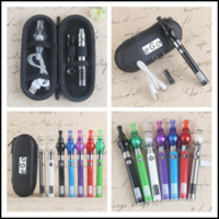 EVOD Dab Pen Dome Attachment Vape Vaporizador Glass Globe Bulbo Wax Vapor Stylus com UGO V EGO T Micro USB Passthrough Starter Kits