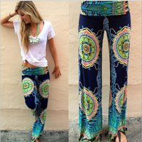 Wholesale Maternity Pants Free Shipping - Maternity Pants Sale Pregnant Women 2015 New European And American In The Waist Casual Summer Fashion Printing Pants Big Yards free Shipping