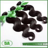 Wholesale Russian Virgin Hair 5a - Russian Hair Weaves Grade 5A Russian Body Wave Human Hair Weaves Free Shipping Russian Virgin Hair Wavy Extensions