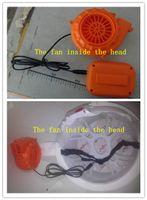 Wholesale Cool Mascot Costumes - Mascot Costume Head Fan Head Cooling System Small Fan
