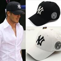 Wholesale Snapbacks Yankees - Wholesale 2016 baseball cap New York Yankees baseball cap embroidered letters snapbacks Hats Adjustable Snapback Caps For Men Women
