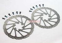 Wholesale Disc Brake Rotor 2pcs - AVID Bike Parts Disc Brake Pads MTB Brake Pad BB5 BB7 Disc Brake Rotor HS1 G3 G2 160mm 2pcs & Ti Bolt