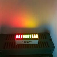 Wholesale Graphic Display Module - Wholesale-5pcs LED Bargraph Module 10 Segment RED Green Yellow Tri-color LED Display 10 Module Bar-Graphic