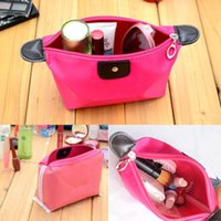 Wholesale Train Purse - 2016 Multi-colors Fashion Lady train case Travel Cosmetic Make Up Pouch Bag Clutch Handbags Casual Purse wholesale