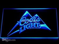 Wholesale Coors Bar Signs - 004 Coors LED Neon Sign Bar Beer Decor Free Shipping Dropshipping Wholesale 7 colors to choose