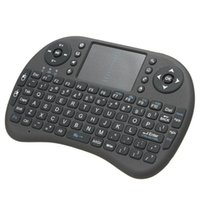 Wholesale-Brand New 2.4GHz Wireless Keyboard I8 Air Mouse Remote Control Touchpad Android Fernsehkasten USSP