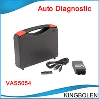 Wholesale Diagnostic Vag German - VAS 5054 Diagnostic Interface for VAG VW Audi VAS5054A V19 Bluetooth 5054 English German Spanish French Portuguese Version DHL free shipping