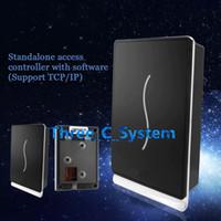 Wholesale Door Control Single - SCR100 RFID EMID 125Khz Single Door Access Control Time Attendance Standalone Access Keypad TCPIP Network Computer Door Access System