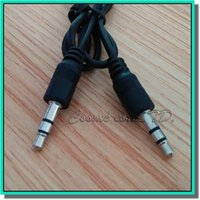 Wholesale Cheap Ipad Wholesale - wholesale cheap 2M AUX 3.5mm Stereo Auxiliary Car Audio Cable Male to Male for iPhone 6 6+ Samsung Galaxy S5 PDA ipad MP3