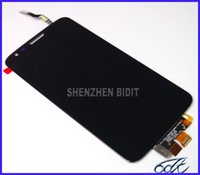 Wholesale Lg G2 Frame - OEM LCD Digitizer for LG Optimus G2 D800 D802 LS980 VS980 Assembly With frame Repair Parts