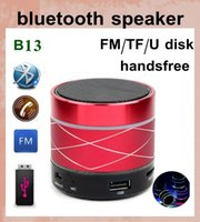 Wholesale wireless laptop computer speakers - wireless bluetooth speaker mini laptop speaker sound box with led light speaker subwoofer amplifier computer outdoor music portable MIS038