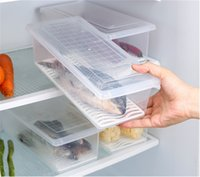 Wholesale M Container - Creative Transparent superimposed food preservation box PP Refrigerator Fish Storage Box Perfect Kitchen Savers and Containers
