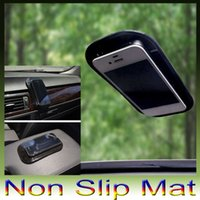 Wholesale Sticky Pad Car Dashboard Mat - Hot sale dashboard pad Non Slip Anti-Slip Mat Sticky Pad For mp3 mp4 Car Magic asm DHL free shipping 300pcs lot