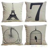 17 yastık kılıfı atın toptan satış-Moda Dekoratif Ev Yastık Kapakları Odası Dekorları Atmak Araba Yastık Kapakları 17