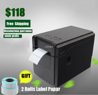 Wholesale Matrix Label - GP-2120T Thermal Barcode Printer price label printer for supermarket and vendor with free 2pcs thermal adhesive sticker