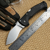Wholesale Fiber Glass Tools - OEM Cold Steel RAJAH III D2 Blade nylon fiber glass Folding pocket Camp Outdoor Hunt Knives tactical survival utility knife EDC tool