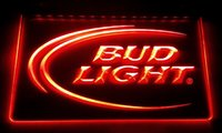 LS006-b Bud Lite Cerveza Bar Pub Club Logo Neon Light Signs