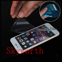 Wholesale Screen Protector Shock Iphone 4s - For iphone 4S 5S 6 6S Plus Samsung Galaxy A3 A5 A7 A8 J7 G530 Nano Anti Shock Screen Protector Explosion Proof Film