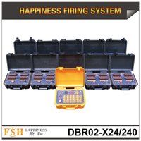 Wholesale Pyrotechnic Firing Systems - FedEX DHL free shipping,500M remote control Fireworks Firing system,240 cues pyrotechnic fire System, happiness new firing system, on sale