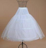 Wholesale Cheapest Girls Dresses - Cheapest Flower Girl Skirt Petticoats White Ball Gown Children Kid Dress Petticoats For Wedding Dress Soft Petticoat for Puffy Dresses