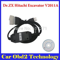 Wholesale Excavator Diagnostic - Dr.ZX Hitachi Excavator Diagnostic Tool V2011A With Best Quality Free Shipping
