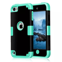 Wholesale Iphone 5g Tpu - 3in1 Shockproof case for iphone 6s 6 & plus dual layer tpu cover for iphone 5S 5G touch 5 samsung galaxy note5 impact