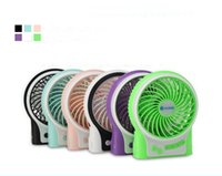 Wholesale Desktop Usb Air Conditioner - Free shipping lileng-831 Mini fan USB Rechargeable Air conditioner Portable storage student dormitory silent electric desktop fan Mini Fan