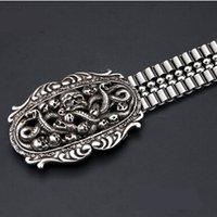 Wholesale Snake Waist Belt - Snake wat buckle belt Food grade stainless steel chain waist band Male adult men cool waistband