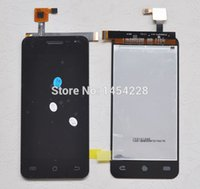 Wholesale G2s Screen - Wholesale-Original Jiayu G2s Touch Screen Digitizer + LCD Display Screen for Jiayu G2s Cell Phone Black in stock +Free shipping